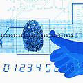 Fingerprint Scanning by Mehau Kulyk