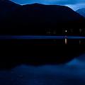 Lake Bohinj At Dusk by Ian Middleton