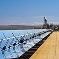 Solar Power Plant, California, Usa by David Nunuk