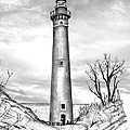 Little Point Sable by Bill Richards