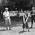 Silent Film Still: Golf by Granger