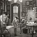 Silent Film Still: Offices by Granger