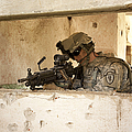 U.s. Army Ranger In Afghanistan Combat by Tom Weber