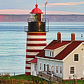 West Quoddy Head Lighthouse by Jack Schultz