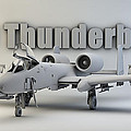 A-10 Thunderbolt II by Dale Jackson