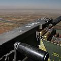 A .50 Caliber Machine Gun Points by Stocktrek Images
