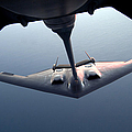 A B-2 Spirit Bomber Conducts by Stocktrek Images