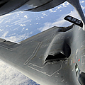 A B-2 Spirit Receives Fuel by Stocktrek Images