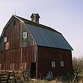 A Barn On A Farm In Nebraka by Joel Sartore