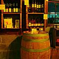 A Barrel And Wine by Jeff Swan