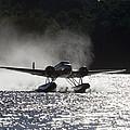 A Beechcraft D-18s Floatplane ,built by Pete Ryan