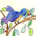 A Bird by Elsa Fleisher Age Eight