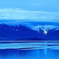 A Blue Slice Of Alaska Coast by Eric Tressler