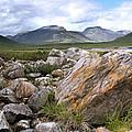 A Boulder Near Loch Garve by Joe Macrae