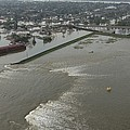 A Breech In A New Orleans Levee Floods by Everett