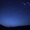 A Bright Sporadic Meteor by Luis Argerich