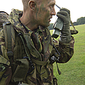 A British Army Soldier Radios by Andrew Chittock