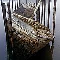 A Broken Boat by David Chapman