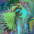 A Broken Wing - Abstract by Haya Matorin