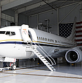 A C-40 Clipper In A Hangar by Stocktrek Images