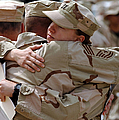 A Chief Master Sergeant Consoles by Stocktrek Images