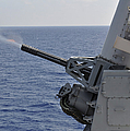 A Close-in Weapons System Aboard by Stocktrek Images