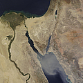 A Cloud Of Tan Dust From Saudi Arabia by Stocktrek Images