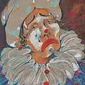 A Clown Face by Mary Armstrong