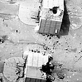 A Coalition Bombing Of Aircraft Hangers by Stocktrek Images