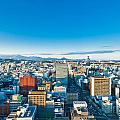 A Cold Sunny Day In Sendai Japan by U Schade