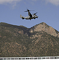 A Cv-22 Osprey Flies Over The 2007 by Stocktrek Images