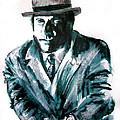A Dapper Brit-portrait Of Ron Moody by Seth Weaver