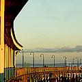 Playland Rye Beach Pier by Carol F Austin