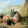 A Day At The Seaside by William Scott