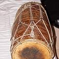 A Dholak Which Is A Musical Instrument  by Ashish Agarwal