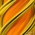 A Digital Streak Image Of A Squash by Ted Kinsman