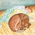 A Dog And Her Boy by Arlene Crafton