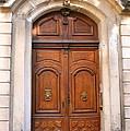 A Door In Arles by Laurel Talabere