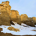 A Dusting On Monument Rocks by Adam Jewell