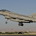 A Eurofighter F-2000 Of The Italian Air by Giovanni Colla