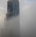 A Foggy Condo On L S D by David Bearden