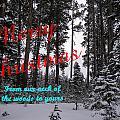 A Forest Christmas by DeeLon Merritt