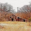 A-frame Barn - No.745 by Joe Finney