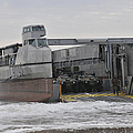 A French Landing Craft Comes Ashore by Stocktrek Images