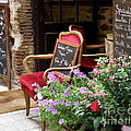 A French Restaurant Greeting by Lainie Wrightson