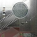 A Frosted Glass Window With An Interesting Pattern by Ashish Agarwal