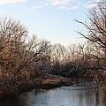 A Frosty Morning On The Elkorn Creek by Bruce Bley