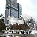 A Gehry Winter by David Bearden