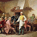 A Gentleman's Debate by Benjamin Eugene Fichel