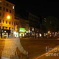 A Ghost Of Antwerp. Belgium. by Ausra Huntington nee Paulauskaite